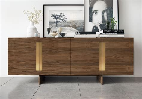 Furniture Corner Buffet Hutch With Modern Sideboard And