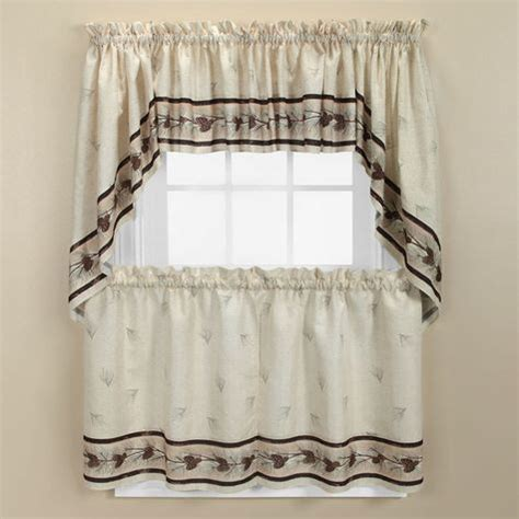 Shopko Curtains For Kitchen by Northcrest Pinehaven Kitchen Curtains Shopko