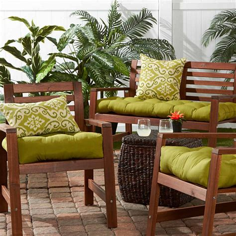 jcpenney patio cushions 20 quot outdoor chair cushion jcpenney