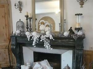 Deco Noel Cheminee : decoration de noel dessus de cheminee ~ Melissatoandfro.com Idées de Décoration
