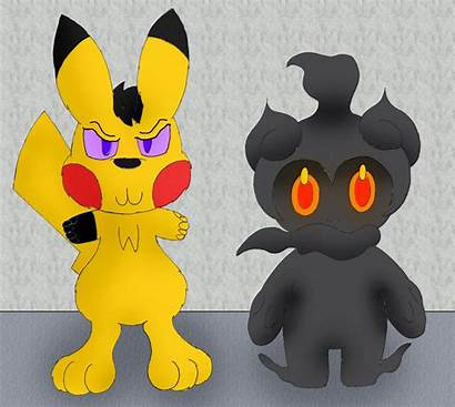 Marshadow Unownace Minion Deviantart Commissions Requests Gifts