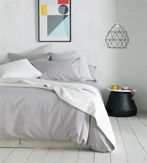 Essential Dove Grey Bedding Set  Cotton  Secret Linen Store