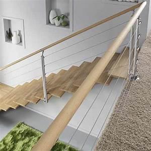 Balustrade En Bois : balustrade garde corps et rampe d escalier leroy merlin ~ Melissatoandfro.com Idées de Décoration