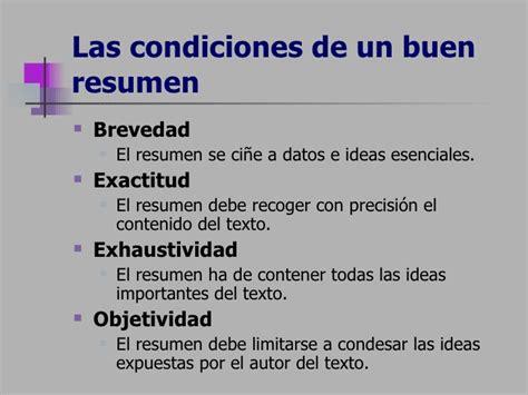 Un Resumen De Trabajo by T 233 Cnicas Para Realizar Un Resumen
