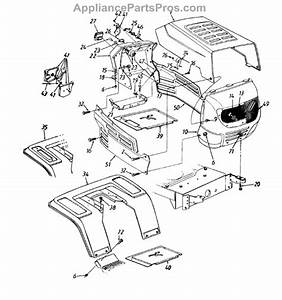 Parts For Power Pro 13aq673g120    1997  Hood Style 3 Parts