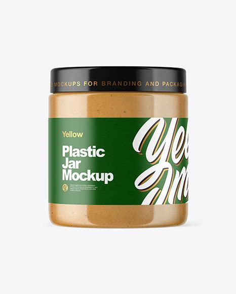 Our awesome team of designers pledge to developing superior but affordable graphics design for peanut butter bottle label mockup. Plastic Jar with Peanut Butter Mockup in Jar Mockups on ...