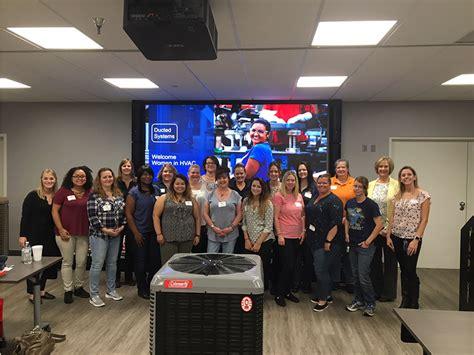 johnson controls hosts women  hvac summit