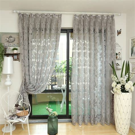 Where To Buy Living Room Curtains by Aliexpress Buy Napearl Modern Curtain Kitchen Ready