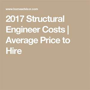 2017 Structural Engineer Costs