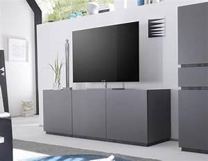 Meuble Tele Moderne : meuble t l laqu moderne ~ Teatrodelosmanantiales.com Idées de Décoration