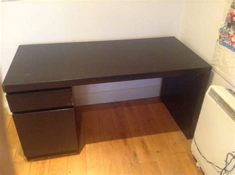 study desk ikea with chair for sale in dun laoghaire