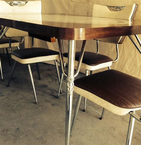 Vintage 1960's Kitchen Table And Chairs Saanich, Victoria