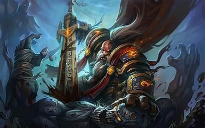Warcraft Wow Wallpapers Background Paladin Dwarf Fan
