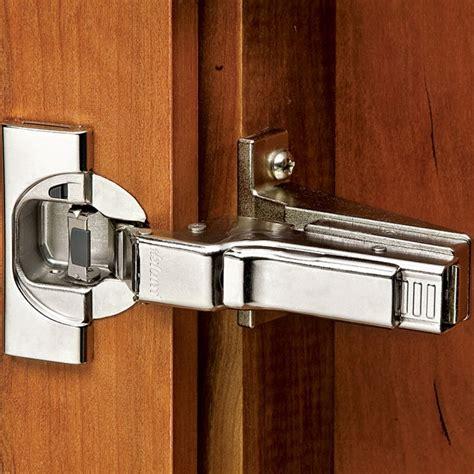 soft close cabinet door hinges inset face frame 110 degree blum clip top hinge rockler