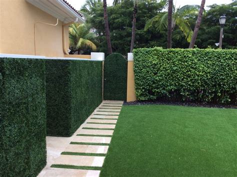 artificial grass ivy walls  patio district
