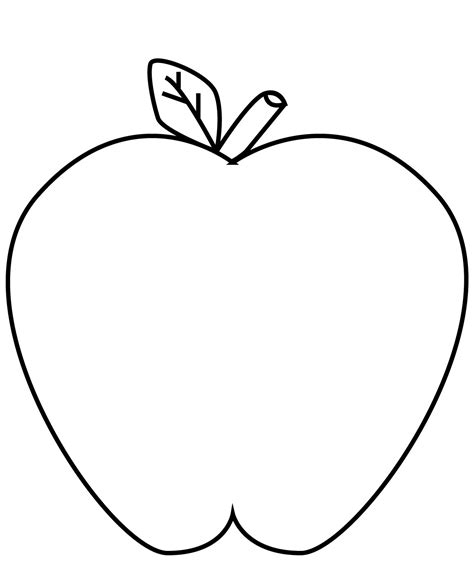 buah buahan gambar apel kartun