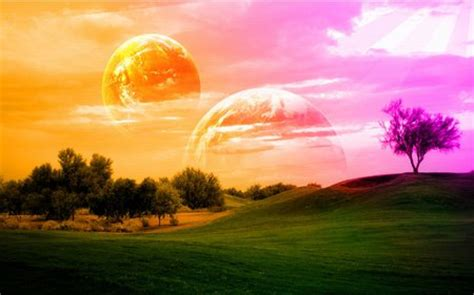 mystical land  nature background wallpapers