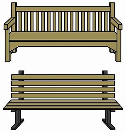 Bench Clipart Transparent Furniture Props Walfas Deviantart
