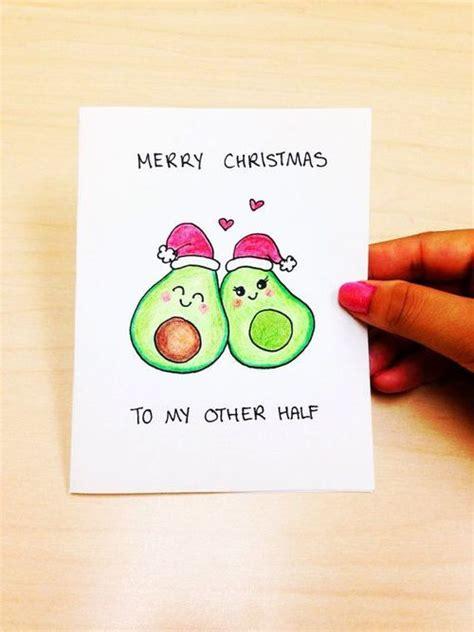 funny christmas card boyfriend merry christmas to my other half cute christmas card