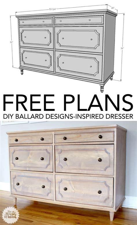 unique dresser plans ideas  pinterest diy dresser