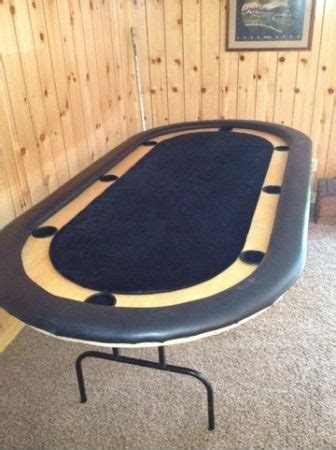 tournament style poker table reduced