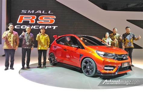 Motor Show 2019 : 2019 Honda Brio Made Global Debut At Indonesia Motor Show