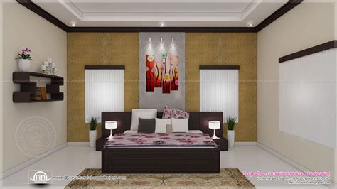 Master Bedroom Decorating Ideas On A Budget - house interior ideas in 3d rendering kerala home design and floor plans