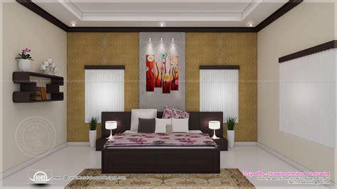 House interior ideas in 3d rendering - Kerala home design