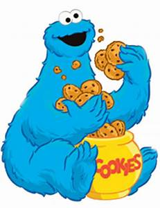 Cookie Monster Eating Cookies - ClipArt Best - Cliparts.co