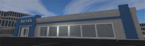 categoryautos car dealership roblox vehicle simulator