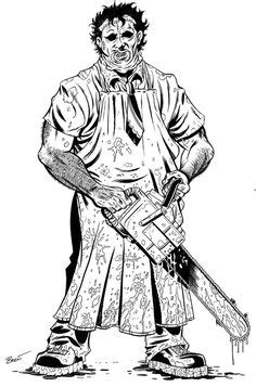 Freddy Krueger Coloring Pages | Coloring Pages | Pinterest