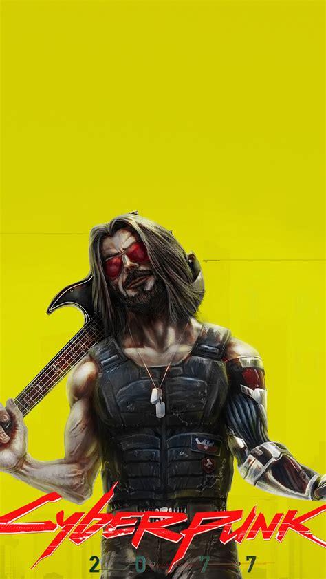 Digital art, artwork, cyber, cyberpunk, neon, lights, neon lights. #328994 Johnny Silverhand, Cyberpunk 2077, Keanu Reeves, 4K phone HD Wallpapers, Images ...