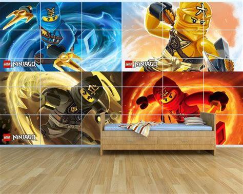 Ninjago Kinderzimmer Gestalten by Neu Lego Ninjago Gigantische Wand Kunst Set 25 M X