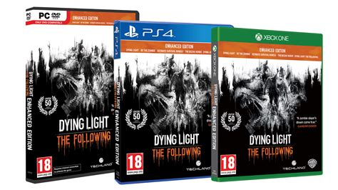 save the light pc release dying light the following enhanced pc ps4 xo edition