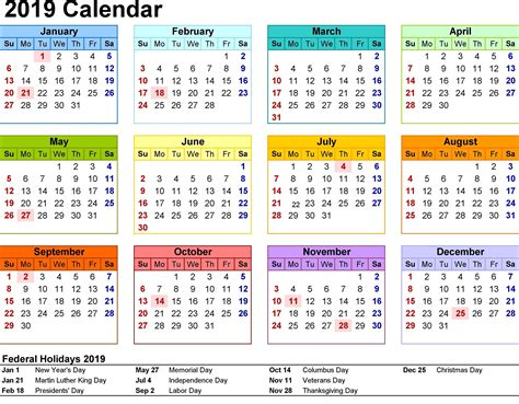 united states  holidays calendar  january