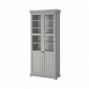 Bibliothèque Vitrée Ikea : liatorp biblioth que vitr e gris ikea ~ Teatrodelosmanantiales.com Idées de Décoration
