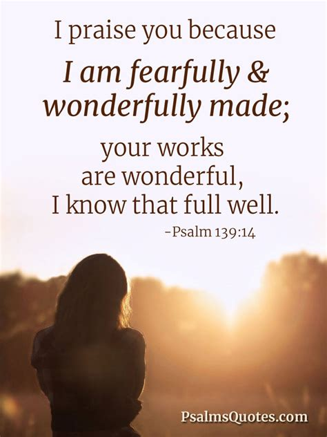 psalm  fearfully  wonderfully