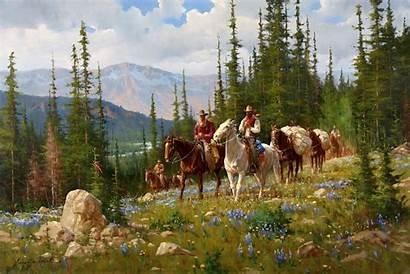 Western West Gary Roberts Lynn Cowboy Wild