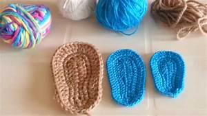 consejos para tejer suelas o plantillas a crochet - YouTube