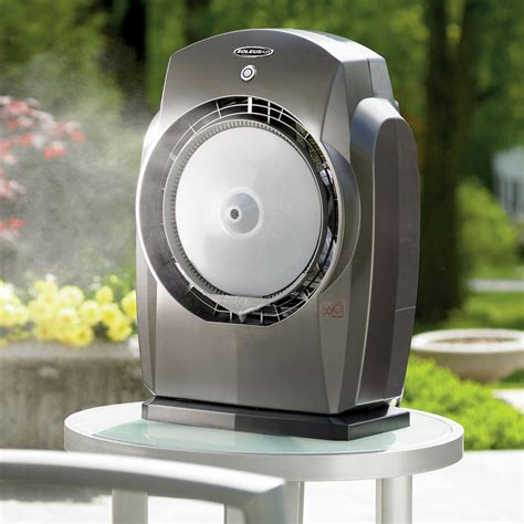 Portable Patio Misting Fans by Humidibreeze Portable Misting System The Green