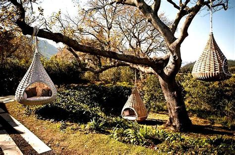 outdoor hanging pod chairs my future home