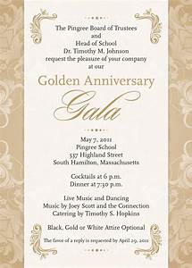 invitation anniversary school image collections With sample of golden wedding anniversary invitation