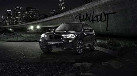 2018 Bmw X3 Blackout Edition Wallpaper Hd Car Wallpapers