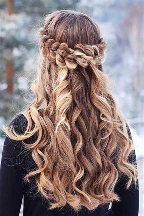33 cool winter hairstyles for the holiday season up dos