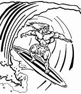 Coloring Surfing Pages Surf Board Surfboard Surfer Drawing Silver Printable Surfboards Boards Colorings Clipart Parasail Designlooter Getcolorings Drawings Getdrawings 1500px sketch template