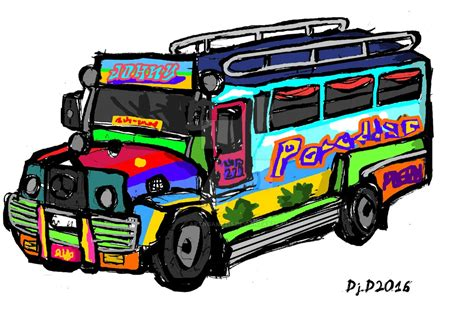 jeep philippines drawing jeepney 1 by artngame215 on deviantart