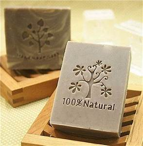 tree soap stamp seal resin soap mold 100 natural letter With soap stamp letters