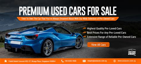 Buy Used Cars For Sale In Singapore