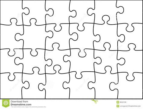 vecteur transparent de puzzle illustration de vecteur