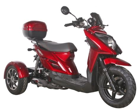 50cc 3 Wheel Trike Scooter Tri031 Automatic 4 Stroke Moped